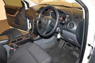 2016 Mazda BT-50 UR0YE1 XT 4x2 Hi-Rider White 6 speed Automatic Cab Chassis
