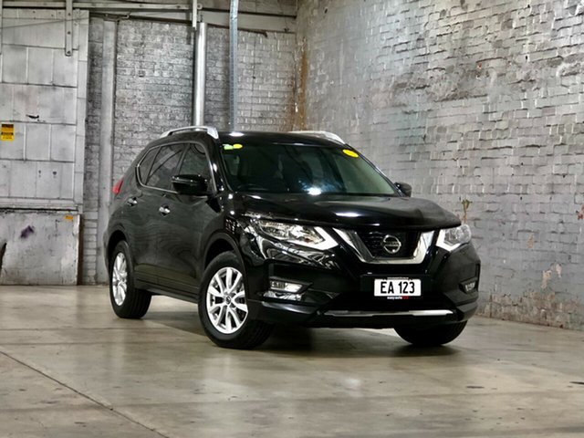 Used Nissan X-Trail T32 ST-L X-tronic 2WD Mile End South, 2017 Nissan X-Trail T32 ST-L X-tronic 2WD Black 7 Speed Constant Variable Wagon