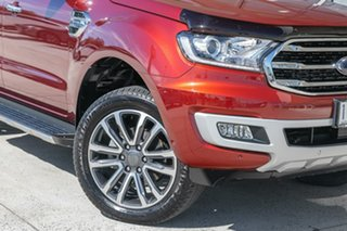 2019 Ford Everest UA II 2019.00MY Titanium Red 10 Speed Sports Automatic SUV.
