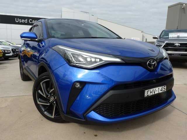 Pre-Owned Toyota C-HR NGX10R Koba S-CVT 2WD Blacktown, 2020 Toyota C-HR NGX10R Koba S-CVT 2WD Blue 7 Speed Constant Variable Wagon
