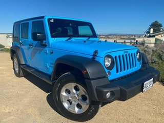 2017 Jeep Wrangler JK MY17 Unlimited Sport Blue 5 Speed Automatic Softtop.