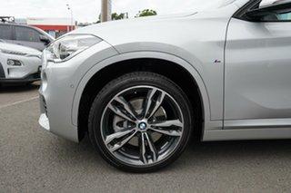 2019 BMW X1 F48 MY19 xDrive 25i M Sport Glacier Silver 8 Speed Automatic Wagon.