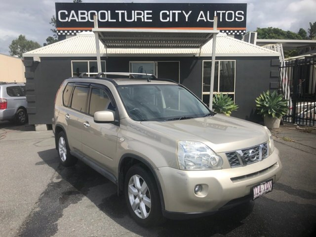 Used Nissan X-Trail T31 TI (4x4) Morayfield, 2008 Nissan X-Trail T31 TI (4x4) Gold 6 Speed CVT Auto Sequential Wagon