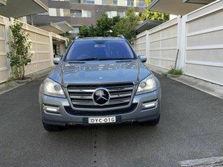 2009 Mercedes-Benz GL-Class X164 MY10 GL500 Silver 7 Speed Sports Automatic Wagon.