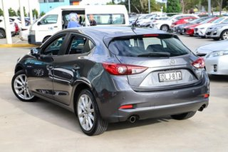2016 Mazda 3 BN5438 SP25 SKYACTIV-Drive Grey 6 Speed Sports Automatic Hatchback.