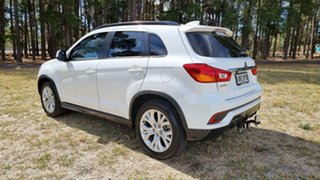 2018 Mitsubishi ASX XC MY19 ES 2WD White 1 Speed Constant Variable Wagon