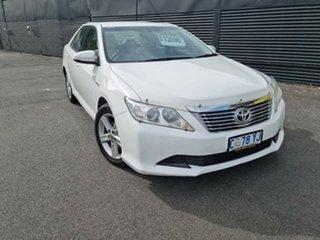 2012 Toyota Aurion GSV50R AT-X White 6 Speed Sports Automatic Sedan.