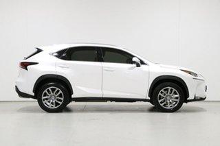 2016 Lexus NX200T AGZ10R Luxury (FWD) White 6 Speed Automatic Wagon