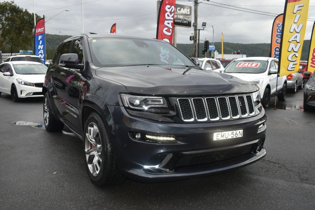Used Jeep Grand Cherokee WK MY2014 SRT Gosford, 2013 Jeep Grand Cherokee WK MY2014 SRT Maximum Steel 8 Speed Sports Automatic Wagon