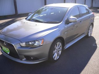 2015 Mitsubishi Lancer CJ MY15 GSR Sportback Grey 5 Speed Manual Hatchback