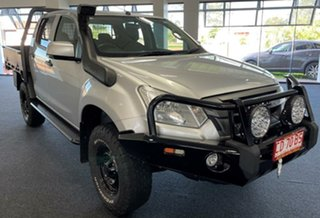 2019 Isuzu D-MAX MY19 SX Crew Cab Silver 6 Speed Manual Cab Chassis.