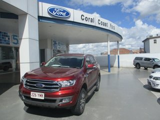 2018 Ford Everest UA MY18 Trend (4WD) (5 Yr) Sunset Red 6 Speed Automatic SUV.