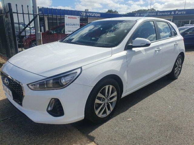 Used Hyundai i30 PD MY18 Active Melton, 2017 Hyundai i30 PD MY18 Active White 6 Speed Sports Automatic Hatchback