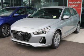 2019 Hyundai i30 PD.3 MY20 Go Typhoon Silver 6 Speed Sports Automatic Hatchback.
