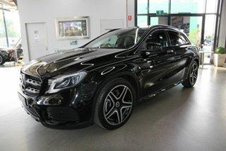 2018 Mercedes-Benz GLA-Class X156 809MY GLA220 d DCT Black 7 Speed Sports Automatic Dual Clutch