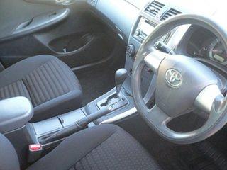 2011 Toyota Corolla ZRE152R MY11 Ascent Black 4 Speed Automatic Sedan