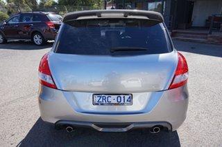 2013 Suzuki Swift FZ Sport Premium Silver 6 Speed Manual Hatchback