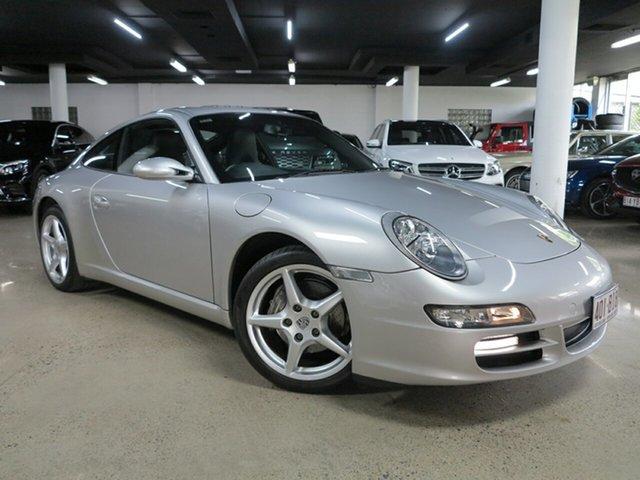 Used Porsche 911 997 MY06 Carrera Albion, 2006 Porsche 911 997 MY06 Carrera Silver 5 Speed Sports Automatic Coupe