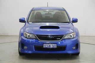 2013 Subaru WRX V1 MY15 AWD Blue 6 Speed Manual Sedan.