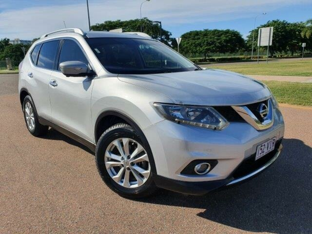 Used Nissan X-Trail T32 ST-L X-tronic 2WD Townsville, 2014 Nissan X-Trail T32 ST-L X-tronic 2WD Silver 7 Speed Constant Variable Wagon