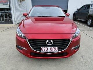 2017 Mazda 3 BN5276 Maxx SKYACTIV-MT Red 6 Speed Manual Sedan.