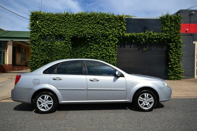Used Holden Viva JF MY07 Blair Athol, 2007 Holden Viva JF MY07 Silver 4 Speed Automatic Sedan