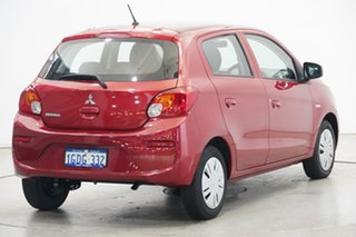 2016 Mitsubishi Mirage LA MY15 ES Red Planet 5 Speed Manual Hatchback
