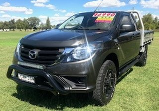 2017 Mazda BT-50 UR0YG1 XT Freestyle Bronze 6 Speed Sports Automatic Cab Chassis.