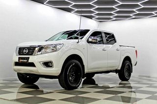 2017 Nissan Navara D23 Series II RX (4x4) White 7 Speed Automatic Double Cab Utility
