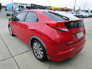 2012 Honda Civic 9th Gen VTi-L Red 5 Speed Sports Automatic Hatchback