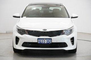 2017 Kia Optima JF MY17 GT White 6 Speed Sports Automatic Sedan.