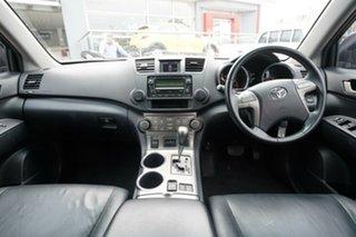 2010 Toyota Kluger GSU40R KX-S (FWD) Silver 5 Speed Automatic Wagon