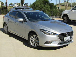 2017 Mazda 3 BN5278 Touring SKYACTIV-Drive Silver 6 Speed Sports Automatic Sedan.