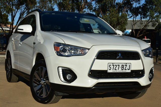 Used Mitsubishi ASX XB MY15 XLS 2WD St Marys, 2014 Mitsubishi ASX XB MY15 XLS 2WD White 6 Speed Constant Variable Wagon
