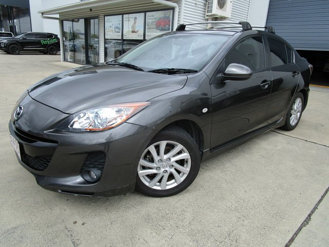 Used Mazda 3 BL1072 SP20 SKYACTIV-Drive SKYACTIV Caboolture, 2011 Mazda 3 BL1072 SP20 SKYACTIV-Drive SKYACTIV Dark Grey 6 Speed Sports Automatic Sedan