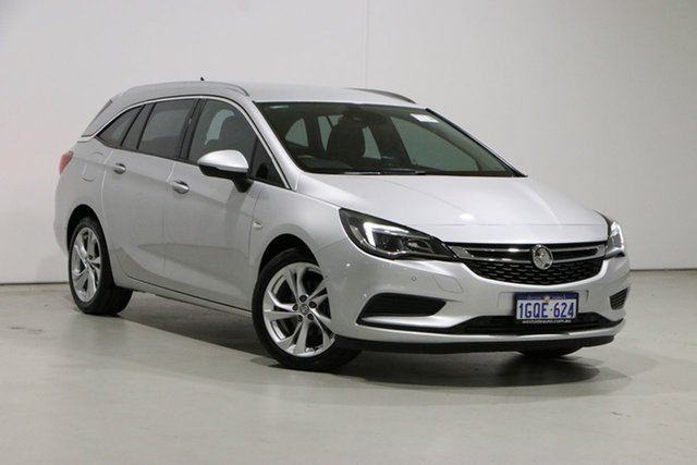 Used Holden Astra BK MY18 LT Bentley, 2017 Holden Astra BK MY18 LT Silver 6 Speed Automatic Sportswagon