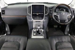 2018 Toyota Landcruiser VDJ200R MY16 Sahara (4x4) Graphite 6 Speed Automatic Wagon