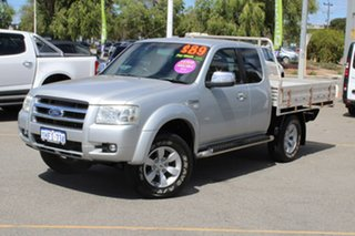 2007 Ford Ranger PJ XLT Super Cab Silver 5 Speed Manual Utility.
