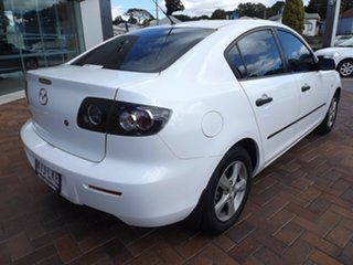 2008 Mazda 3 BK10F2 Neo White 5 Speed Manual Sedan