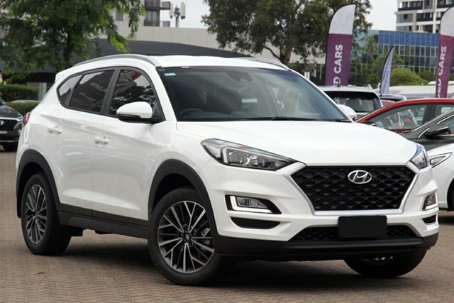 New Hyundai Tucson TL4 MY21 Active X 2WD Beaudesert, 2020 Hyundai Tucson TL4 MY21 Active X 2WD White Pearl 6 Speed Automatic Wagon