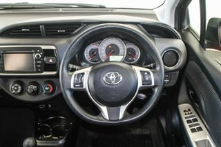 2015 Toyota Yaris NCP130R MY15 Ascent Cherry 5 Speed Manual Hatchback