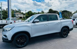2019 Ssangyong Musso Q201 MY20 Ultimate Plus Crew Cab XLV White 6 Speed Sports Automatic Utility.