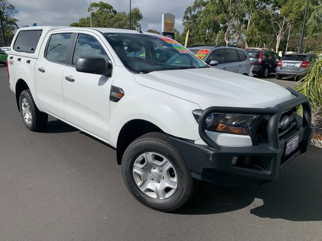 Used Ford Ranger PX MkII XL Bunbury, 2016 Ford Ranger PX MkII XL White 6 Speed Sports Automatic Utility