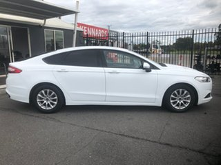 2016 Ford Mondeo MD Ambiente TDCi White 6 Speed Automatic Hatchback.