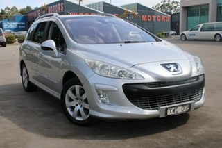 2010 Peugeot 308 Touring XSE HDi 2.0 Silver 6 Speed Automatic Wagon.