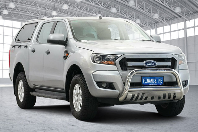 Used Ford Ranger PX MkII XLS Double Cab Victoria Park, 2016 Ford Ranger PX MkII XLS Double Cab Aluminium 6 Speed Sports Automatic Utility