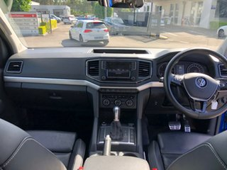 2017 Volkswagen Amarok 2H MY17 TDI550 4MOTION Perm Ultimate Blue 8 Speed Automatic Utility
