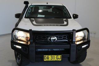 2019 Toyota Hilux GUN126R Rugged Double Cab White 6 Speed Sports Automatic Utility