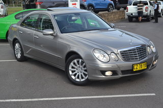 2006 Mercedes-Benz E-Class W211 MY06 E350 Elegance Bronze 7 Speed Automatic Sedan.