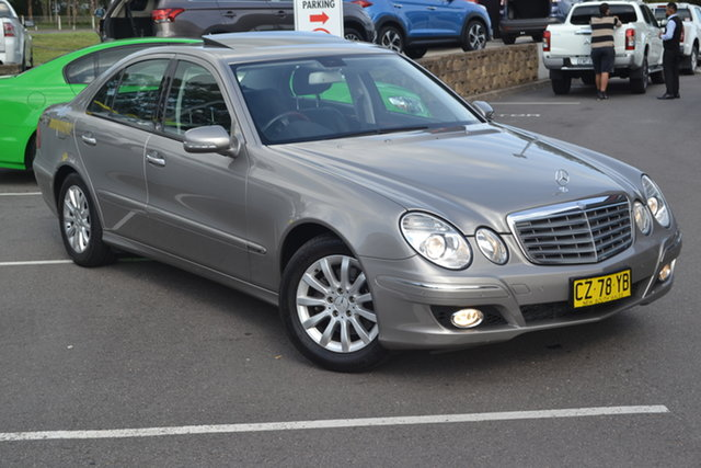 Used Mercedes-Benz E-Class W211 MY06 E350 Elegance Maitland, 2006 Mercedes-Benz E-Class W211 MY06 E350 Elegance Bronze 7 Speed Automatic Sedan